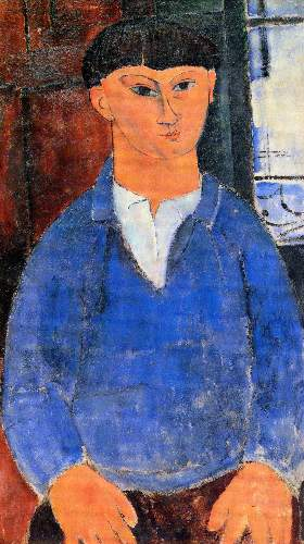 Modigliani - Portrait of Moise Kisling [2]